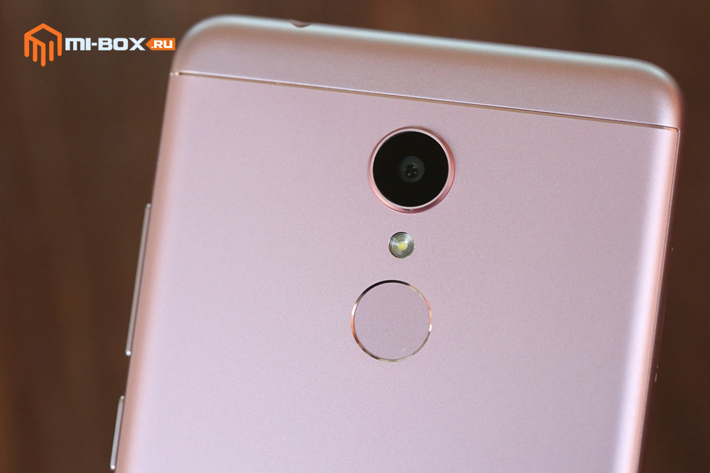 Обзор Xiaomi Redmi 5 - камера и сканер отпечатков