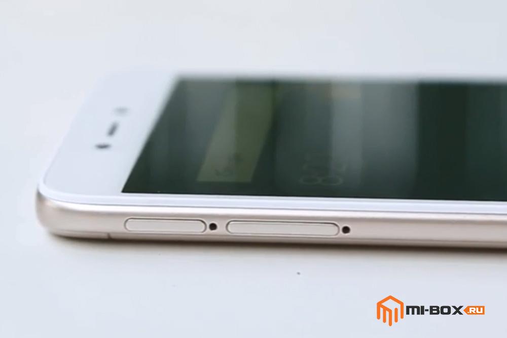Обзор Xiaomi Redmi 5a - левая грань