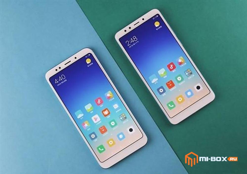 Смартфоны Xiaomi Redmi 5 и Redmi 5 Prime
