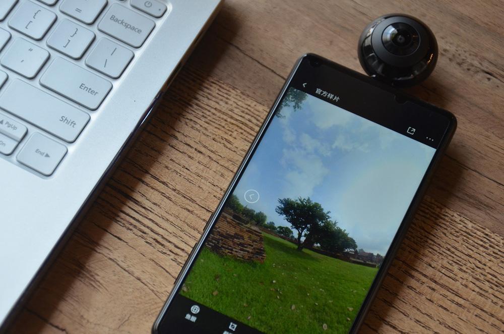Xiaomi MADV Mini - сферическая камера для смартфонов