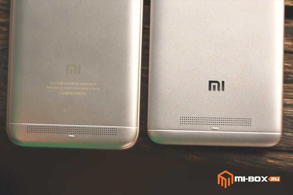 В чем отличие Xiaomi Redmi 4a от 5a - динамики