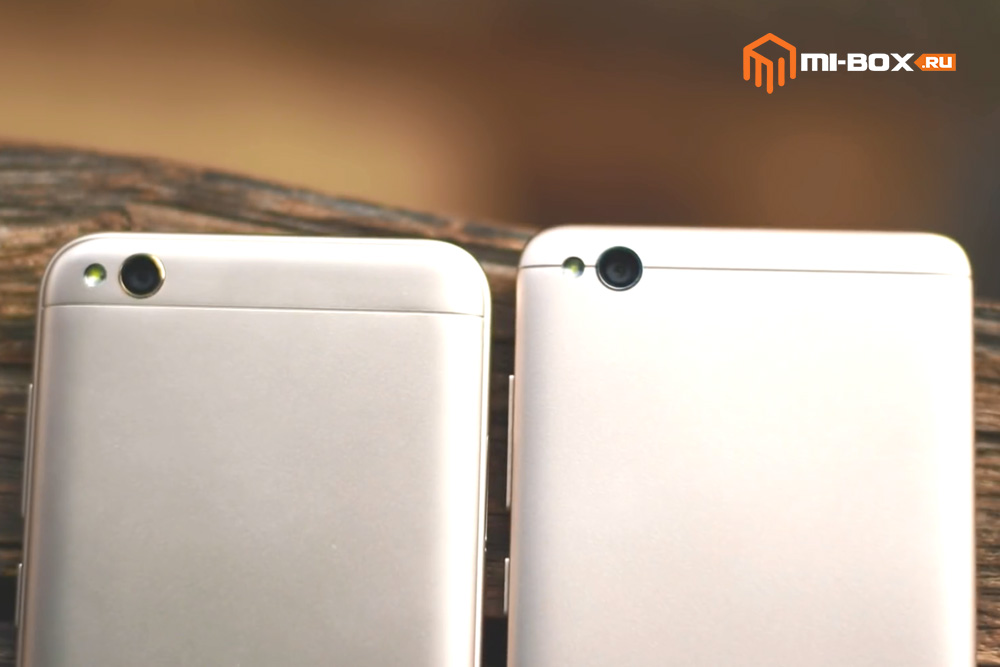 В чем отличие Xiaomi Redmi 4a от 5a - камеры