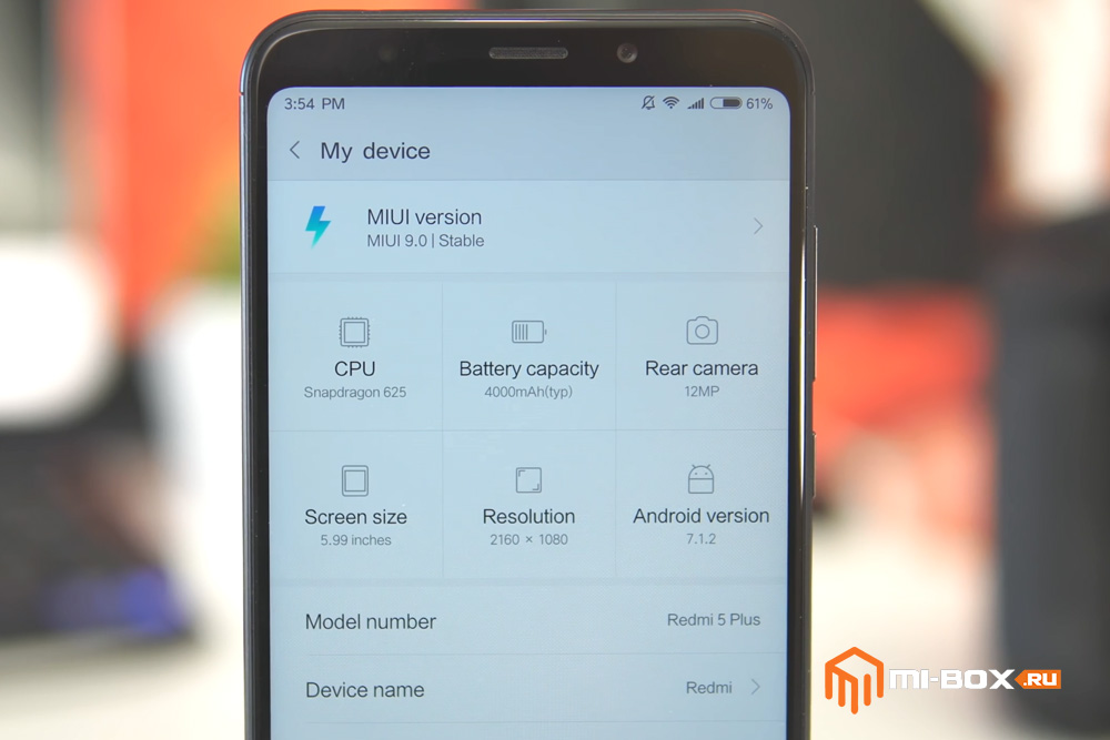 Обзор Xiaomi Redmi 5 Plus - MIUI9
