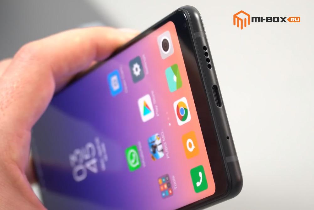 Обзор Xiaomi Mi Mix 2s - нижняя грань