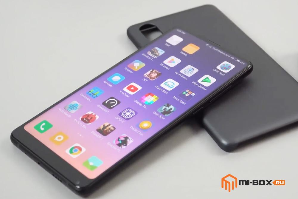 Обзор Xiaomi Mi Mix 2s - передняя сторона