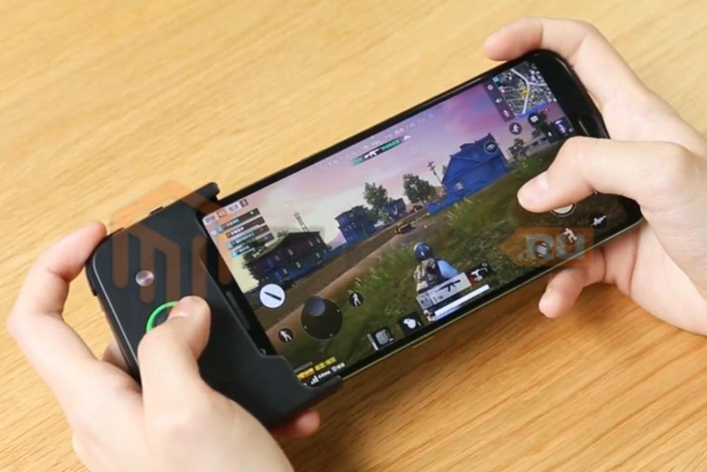 Смартфон Xiaomi Black Shark - игра на смартфоне