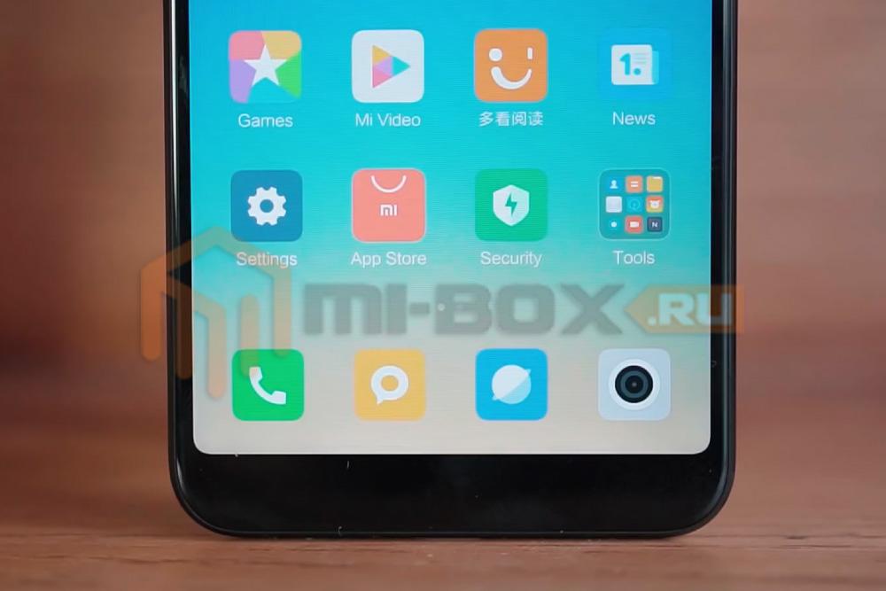 Обзор Xiaomi Mi 6x - отсутствие сенсорных кнопок навигации