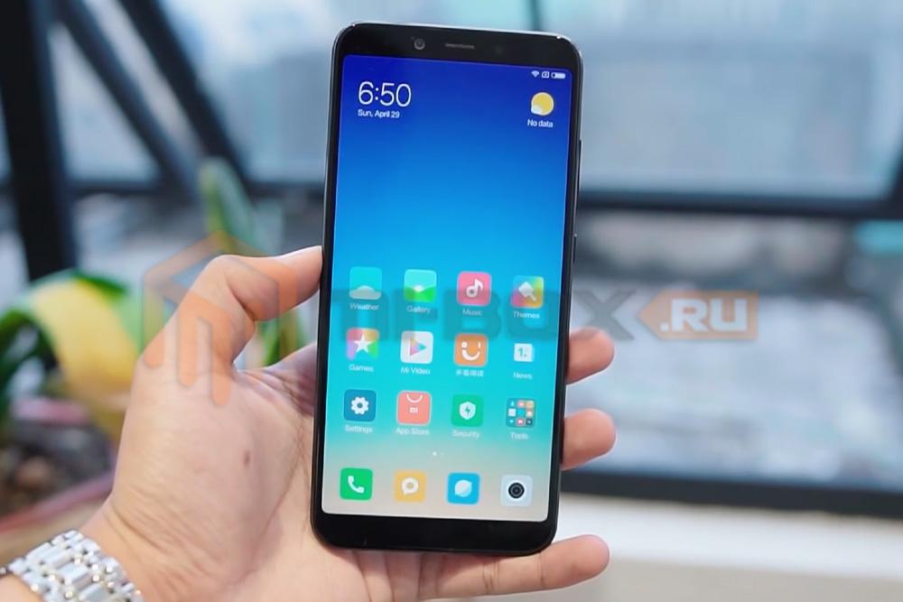 Обзор Xiaomi Mi 6x - внешний вид