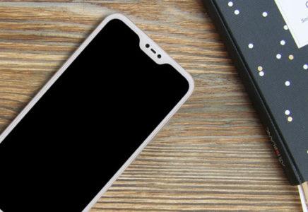 Первый смартфон Xiaomi в стиле iPhone X
