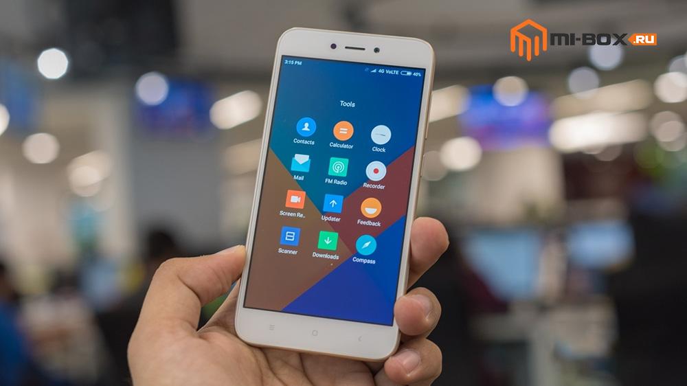 Xiaomi Redmi 5a - самый продаваемый Android-смартфон