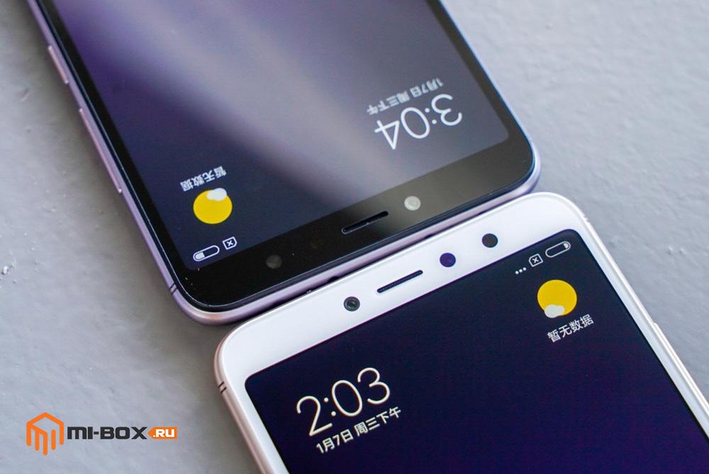 Xiaomi Redmi S2 - фронтальная камера