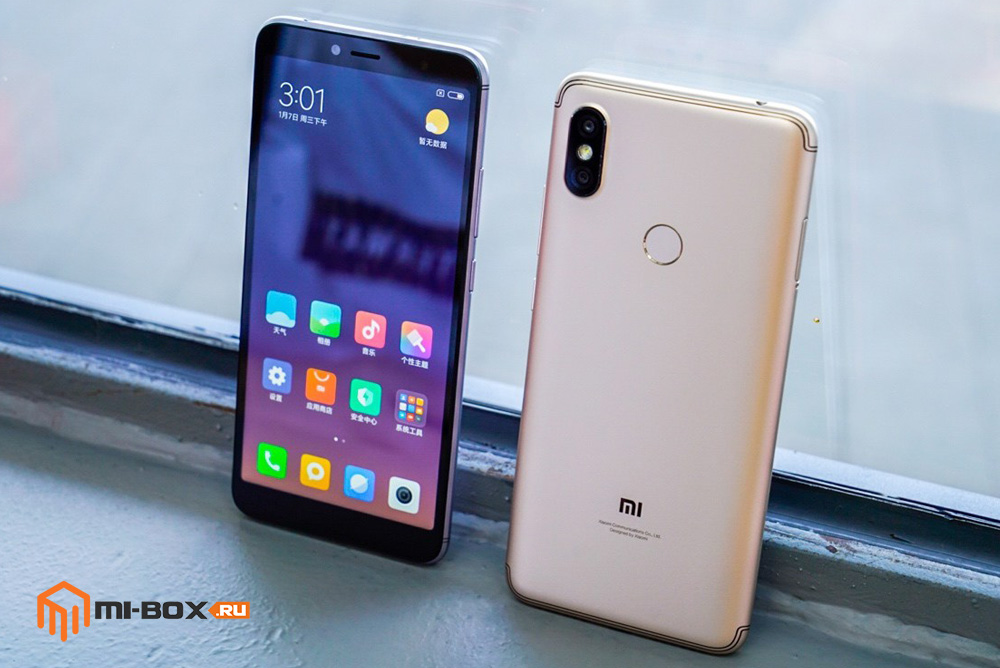 Xiaomi Redmi S2 - внешний вид