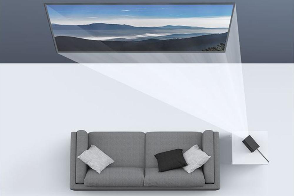Mijia Projector - компактный проектор от Xiaomi - автокоррекция