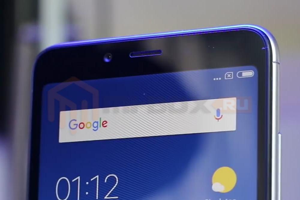 Обзор смартфона Xiaomi Redmi 6 - фронтальная камера