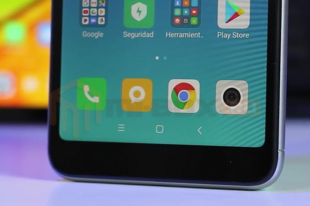 Обзор смартфона Xiaomi Redmi 6 - кнопки навигации