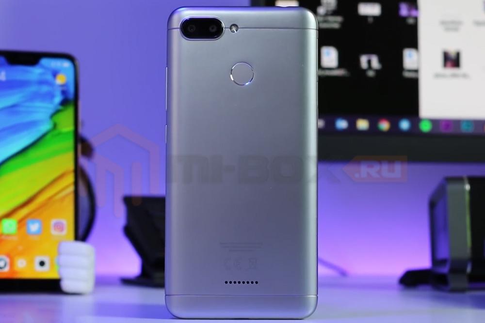 Обзор смартфона Xiaomi Redmi 6 - задняя сторона