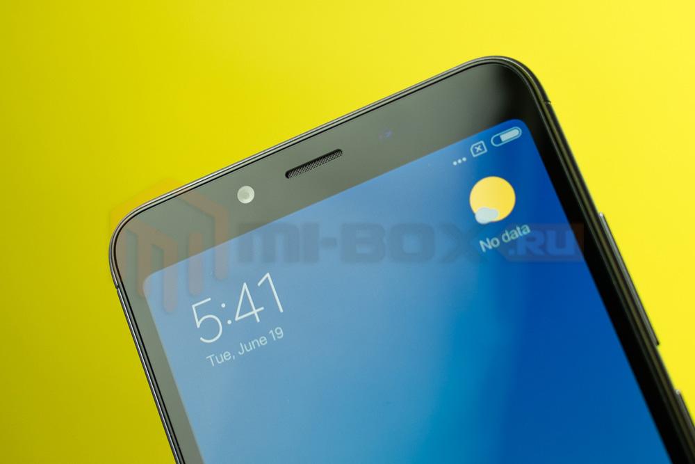 Обзор смартфона Xiaomi Redmi 6a - фронтальная камера