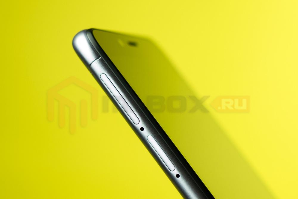 Обзор смартфона Xiaomi Redmi 6a - левая грань с двумя слотами