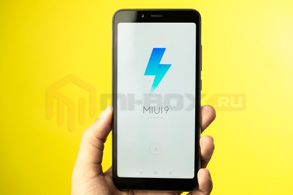 Обзор смартфона Xiaomi Redmi 6a - miui 9