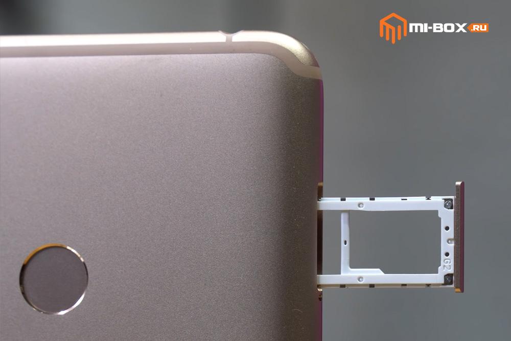 Обзор Xiaomi Mi Max 3 - левая грань
