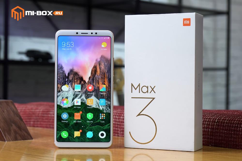 Обзор Xiaomi Mi Max 3 - внешний вид и упаковка