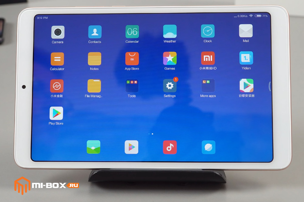 Обзор Xiaomi Mi Pad 4 - дисплей