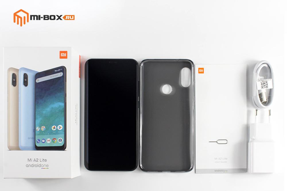 Обзор Xiaomi Mi A2 Lite - комплектация