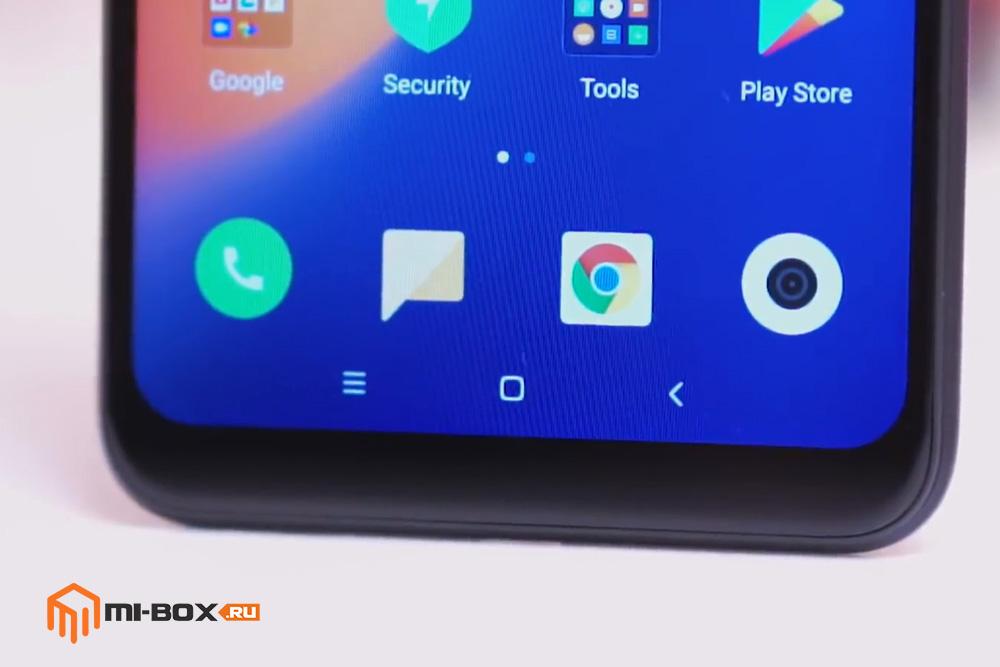 Обзор Xiaomi Redmi Note 6 PRO - кнопки навигации