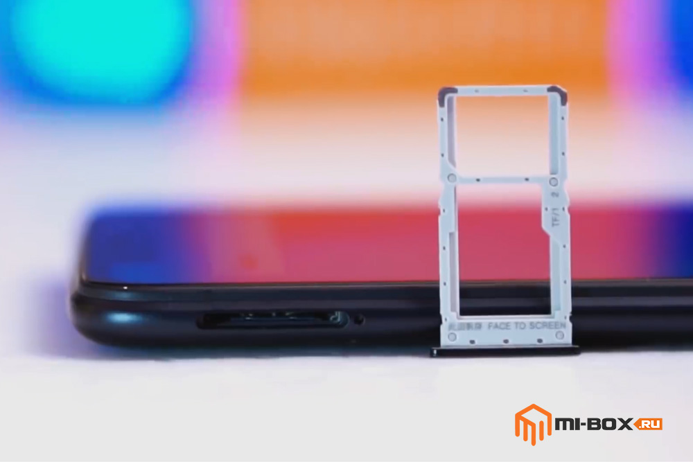 Обзор Xiaomi Redmi Note 6 PRO - левая грань