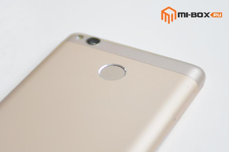 Обзор смартфона Xiaomi Redmi 3s - сканер отпечатков пальцев