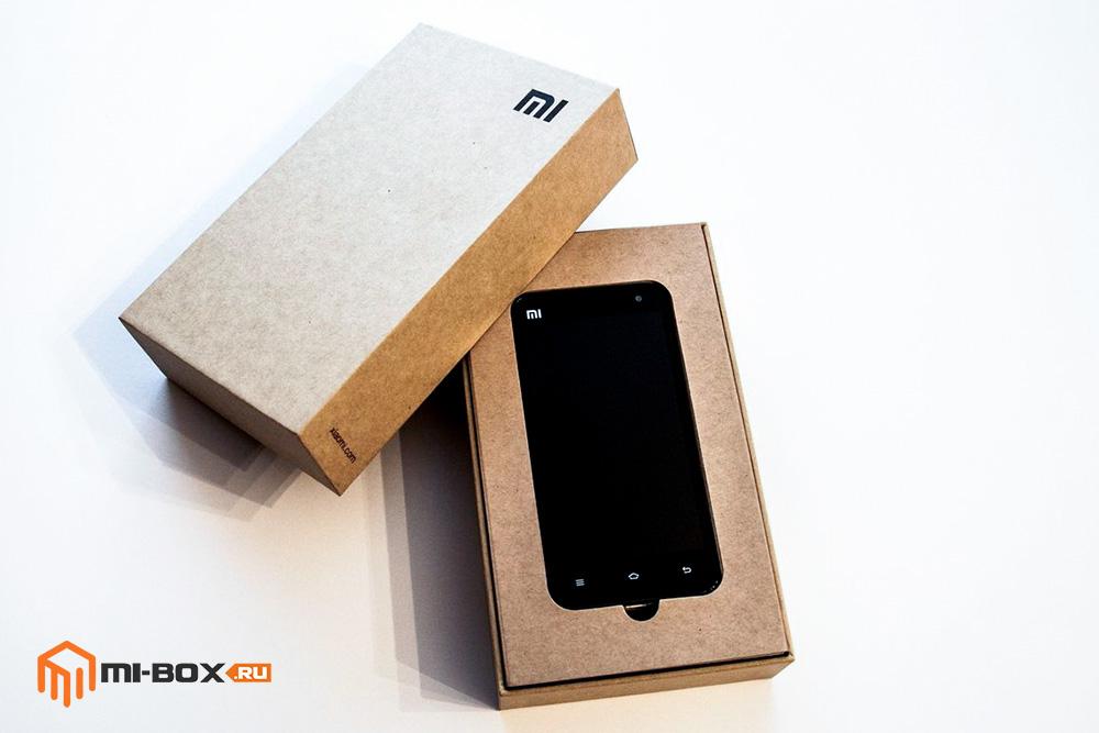 Обзор Xiaomi Mi 2 - упаковка