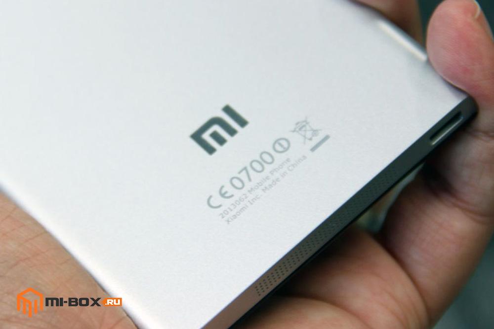 Обзор Xiaomi Mi 3 - логотип
