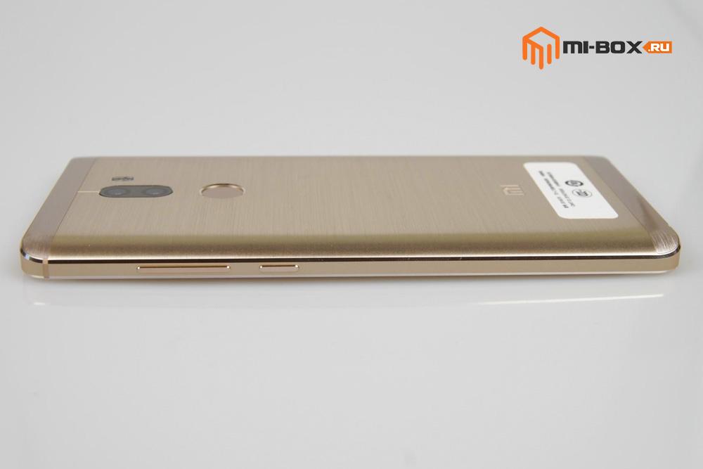 Обзор Xiaomi Mi 5s Plus - правая грань