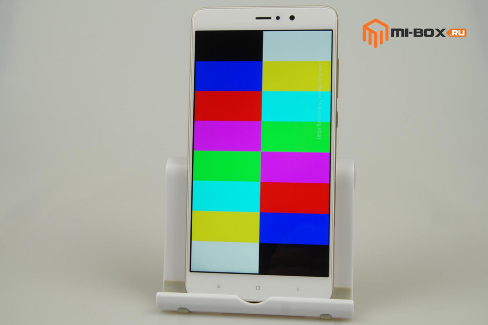 Обзор Xiaomi Mi 5s Plus - тест дисплея