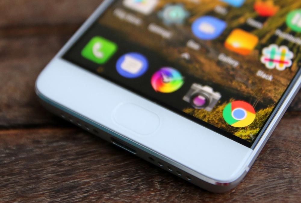 Обзор Xiaomi Mi 5s - нижняя грань и сканер отпечатков