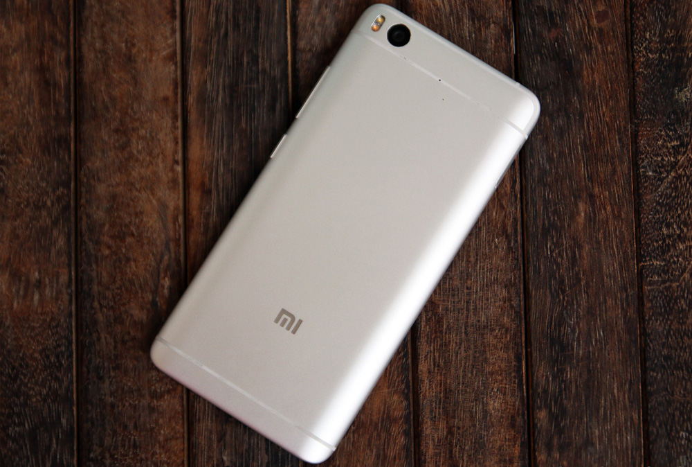 Обзор Xiaomi Mi 5s - задняя сторона