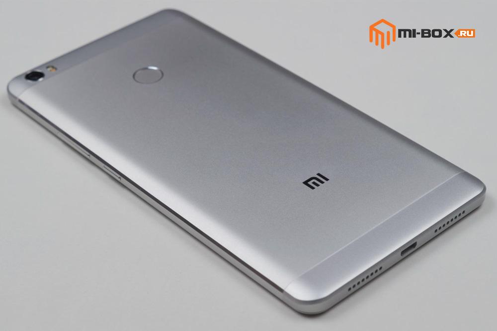 Обзор Xiaomi Mi Max - задняя сторона
