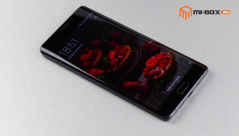 Обзор Xiaomi Mi Note 2 - передняя сторона