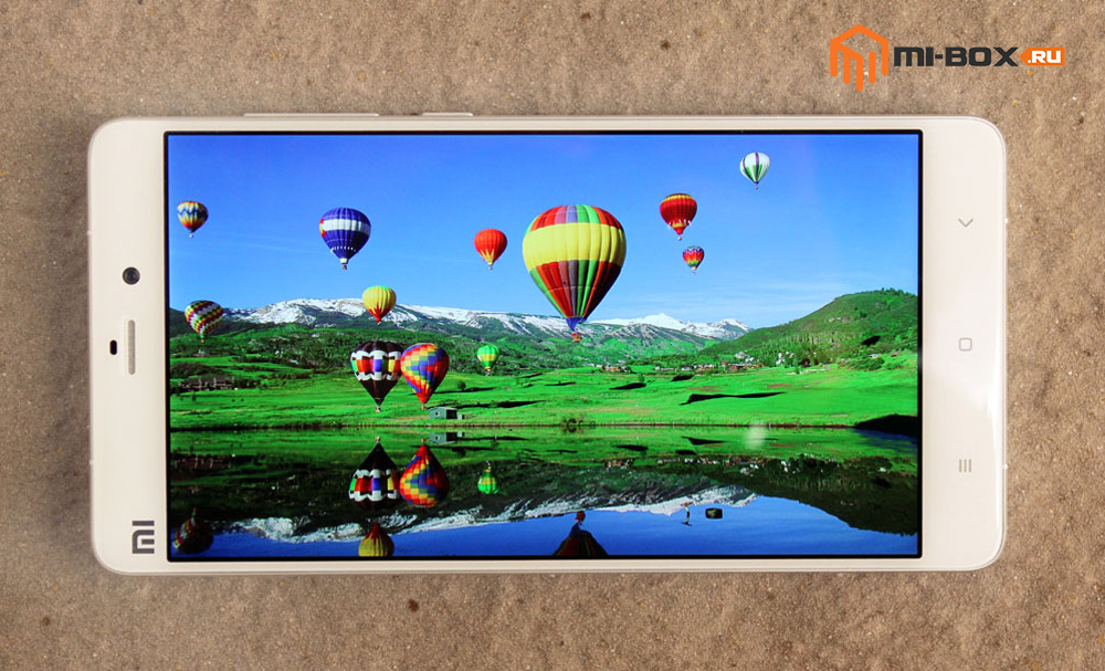 Обзор Xiaomi Mi Note - дисплей