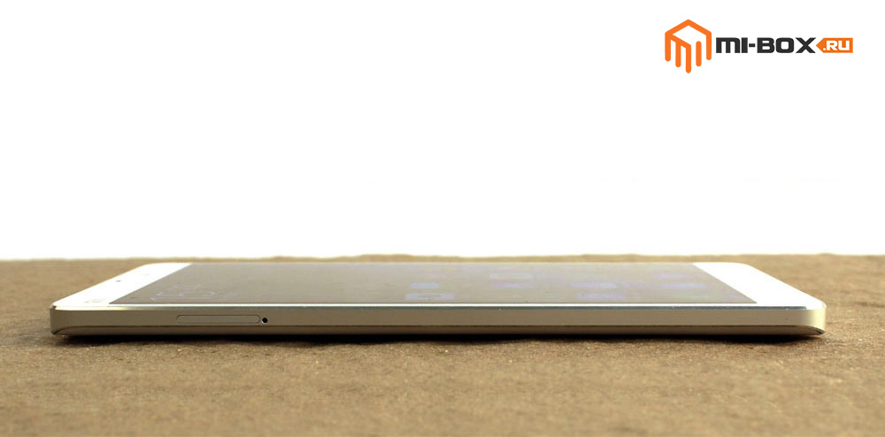 Обзор Xiaomi Mi Note - левая грань