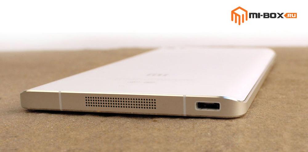Обзор Xiaomi Mi Note - нижняя грань