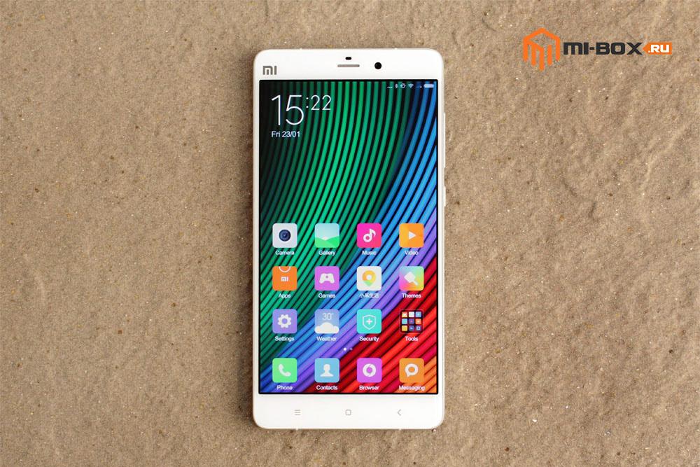 Обзор Xiaomi Mi Note - передняя сторона и дисплей