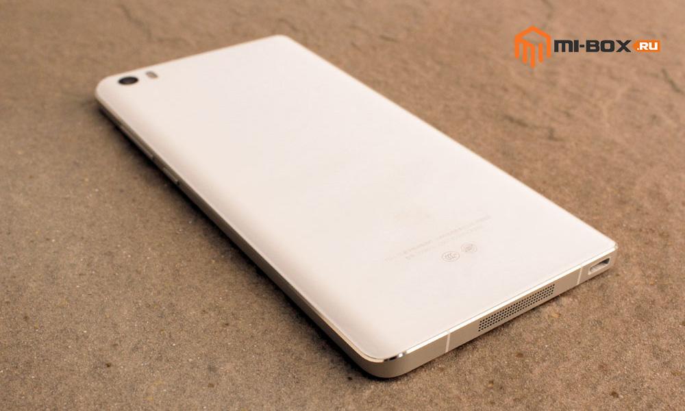 Обзор Xiaomi Mi Note - задняя сторона