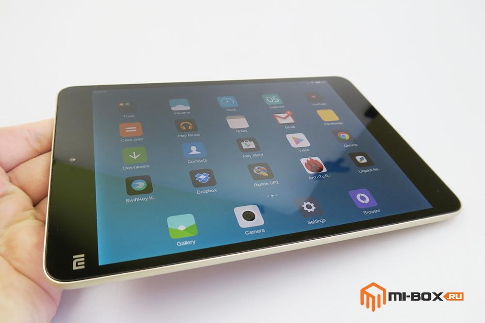 Обзор Xiaomi Mi Pad 2 - дисплей