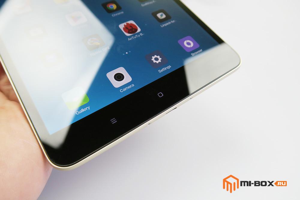 Обзор Xiaomi Mi Pad 2 - кнопки управления