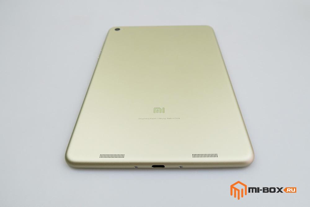 Обзор Xiaomi Mi Pad 2 - задняя сторона