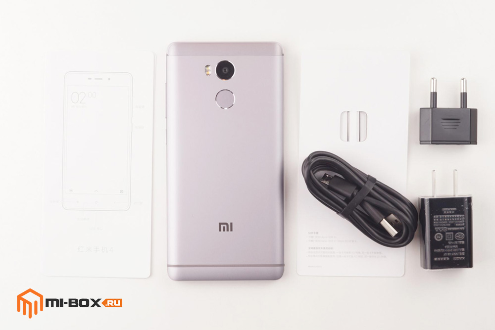 Обзор Xiaomi Redmi 4 - комплектация