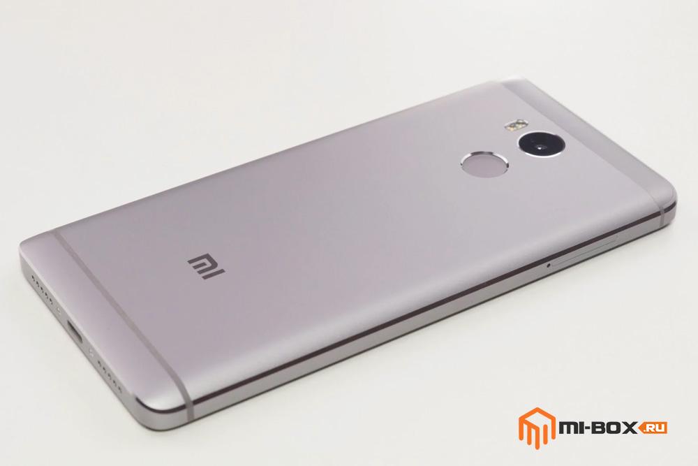 Обзор Xiaomi Redmi 4 - задняя сторона