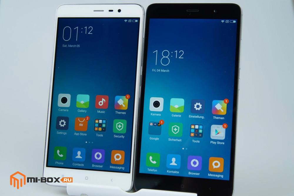Обзор Xiaomi Redmi Note 3 Pro - передняя сторона