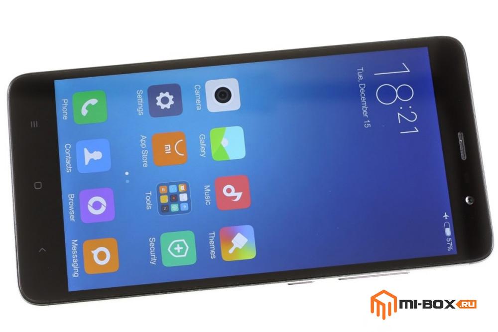 Обзор Xiaomi Redmi Note 3 - передняя сторона